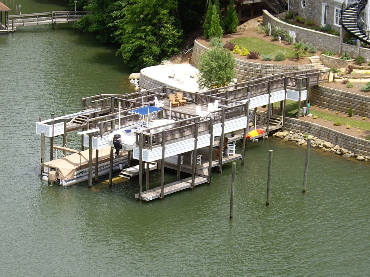 About - Lake Norman Custom Docks from Lancaster Dock